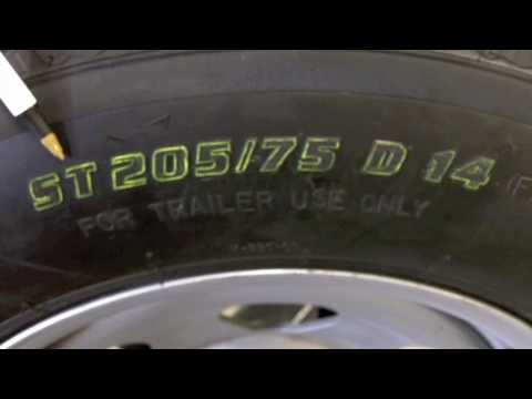 RecStuff.com - How To Read Sidewall Of a Trailer Tire