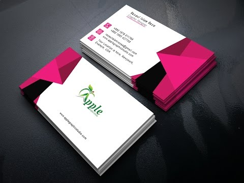 How to Design an Eye Catching Business Card in Photoshop