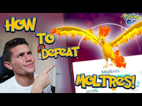 HOW TO BEAT MOLTRES IN POKÉMON GO + *NEW LEGENDARY RELEASE TOMORROW!*