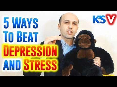 5 Effective Ways to Beat Depression, Stress and Anxiety
