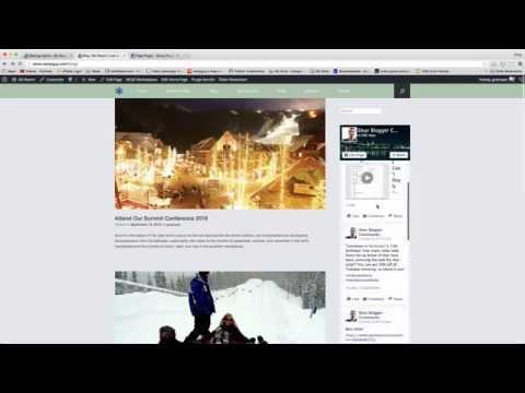Insert Facebook Page Plugin (Like Box) - WordPress