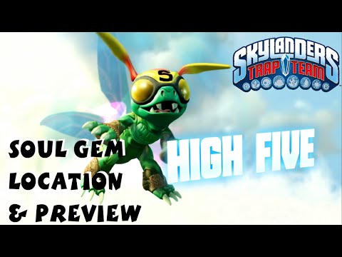 High Five Soul Gem Preview and Location 1080P 60 fps - Skylanders Trap Team