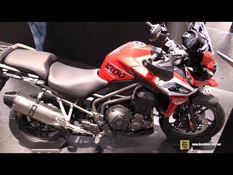 2018 Triumph Tiger 1200 XRT - Walkaround - 2017 EICMA Milan Motorcycle Exhibition