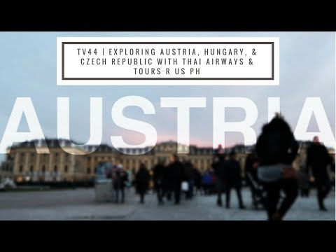 Exploring Austria, Hungary, and Czech Republic with Thai Airways & Tours R Us PH