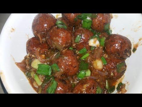 Veg Manchurian | Veg Manchurian  Dry Recipe | Appetizer recipe | Chinese recipe