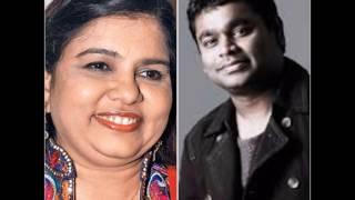 Great 10 Tamil Songs of  Sadhana Sargam with AR Rahman & Others