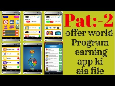 new offer world Program earning app aia file !! cpa
