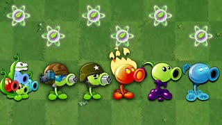 Plants VS. Zombies 2 | All Peashooter Challenge & Power up! VS Brickhead Zombie 2