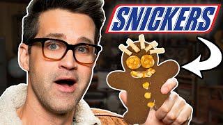 Snickers Gingerbread Man Taste Test