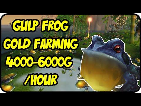WoW Gold Farming Patch 6.2.4: Harmonious Porcupette Gold Making - Gulp Frog Farming - WoD Gold Guide