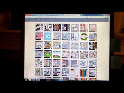 How to Find a Free Digital Scrapbook Kit - 3