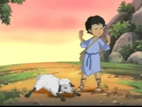 EL PASTORCITO Película animada para niños historia de la biblia