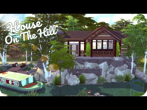 LITTLE LAKE HOUSE | Sims 4 Speed Build