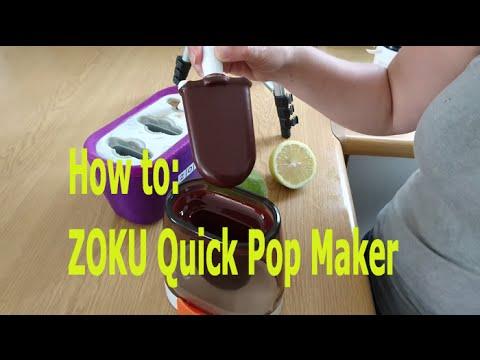 How to make popsicles - ZOKU Quick Pop Maker