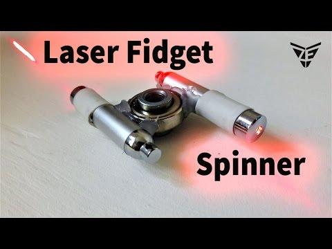 Laser Spinner Fidget (Party hand spinner)