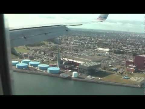 Landing at LaGuardia Airport & Central Park View HQ
