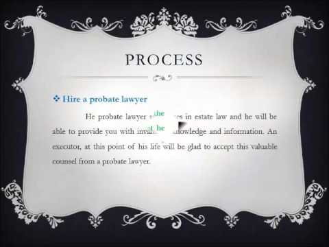 Hire a Probate Attorney for His Advice