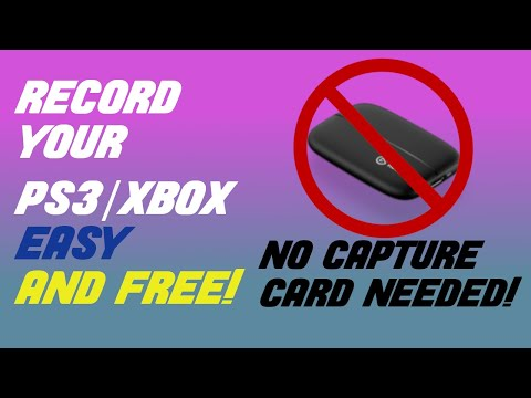 How To Record Your Ps3/xbox With IPad/phone/camera (EASY!!!!)