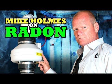 Mike Holmes on Radon