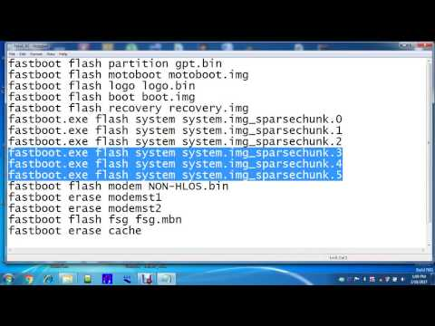 Moto E Dual XT1022 Google Factory Reset Bypass flashing by fastboot mode