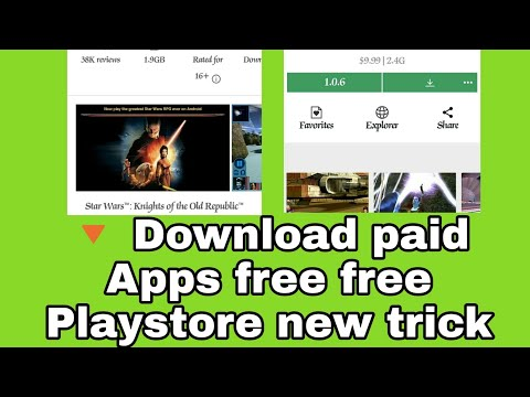 Paid APPS for Android free download. Ek daam naya trick.