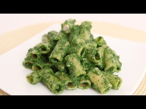 Rigatoni with Kale Pesto - Laura Vitale - Laura in the Kitchen Episode 663