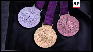 Medals For 2012 London Olympis Unveiled
