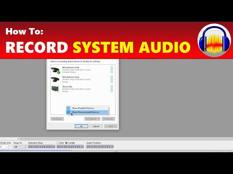 How To: Record System Audio From Your Computer in Audacity
