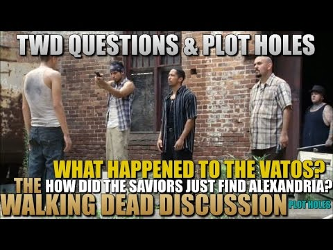 The Walking Dead Plot Holes Discussion And Questions TWD Plot Holes