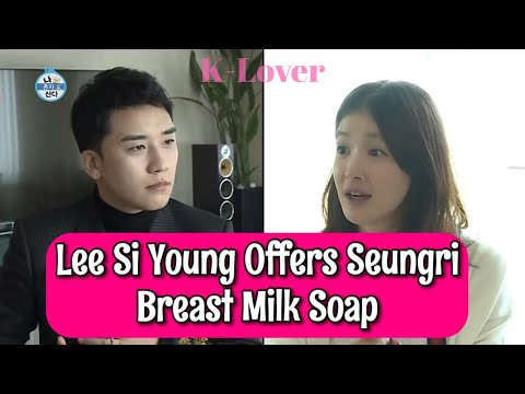 Lee Si Young Offers Seungri Breast Milk Soap In Return For Baby Gift