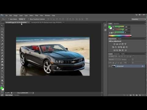 How to Use Cut and Paste in Photoshop CS6