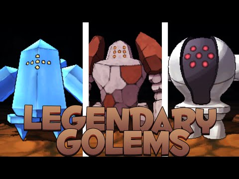 Pokémon Omega Ruby & Alpha Sapphire - Legendary Golems!