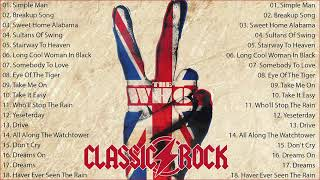 Top 150 Classic Rock Song Playlist 💗 Classic Rock 70's 80's 90's – Most Requested Pop/Rock Hits