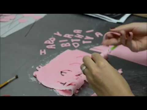 How to make a amazing cake with fondant icing - Fashion Theme Cake