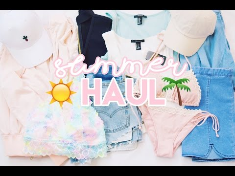 Summer Haul // Brandy Melville, Urban Outfitters, Forever 21+