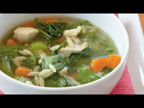 Chicken Orzo Soup Recipe