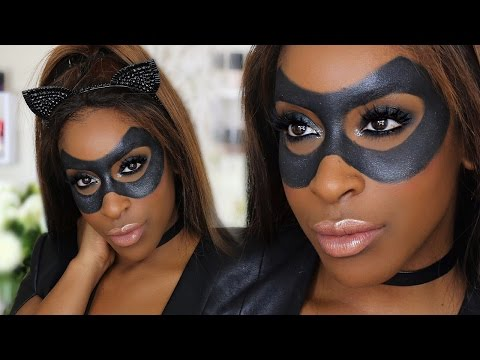 Easy, DIY Sexy Catwoman Halloween Makeup!