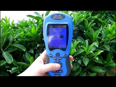 GPS land & Area measuring instrument NF-198 in NOYAFA
