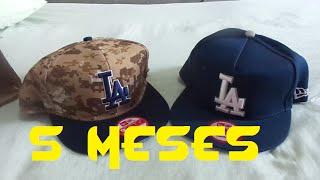 Unboxing Aliexpress   2 Bonés New Era LA Dodgers - 5 Meses depois abd79d0ea1a