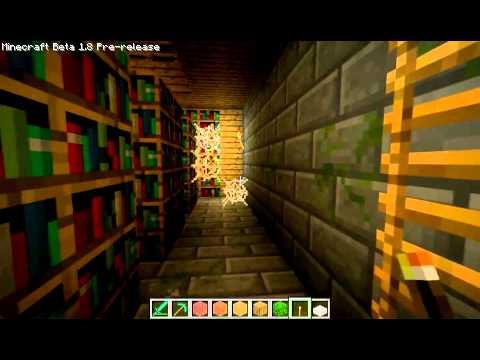 Minecraft 1.8 - Review [Villages,Ravines,Silverfish,Strongholds]