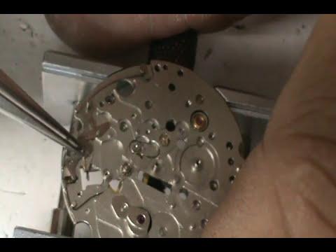 reparacion reloj cronografo 9