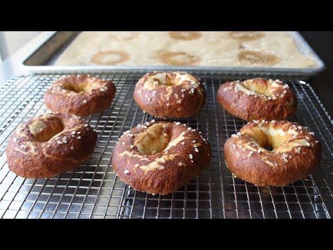 Pizza Dough Pretzels - How to Make Soft Pretzel Rings with Pre-Made Pizza Dough
