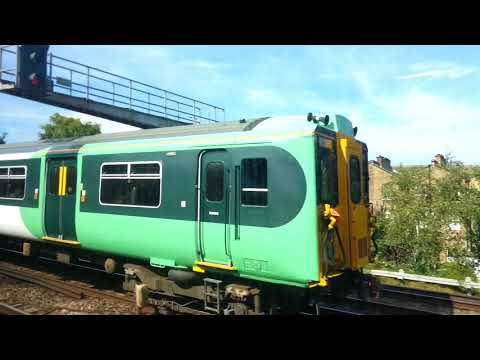 Towards London Victoria by train ( Gatwick Express )   28th August 2017