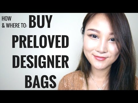 HOW & WHERE TO BUY PRELOVED DESIGNER BAGS: HERMES, LOUIS VUITTON, CHANEL | Cherry Tung