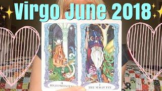 Virgo June l 2017 Tarot Reading 🌻Shadiness turns into light