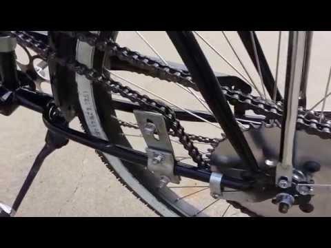 Motorized Bikes Chain Drive