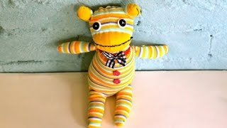 How To Make A Sock Monkey Toy