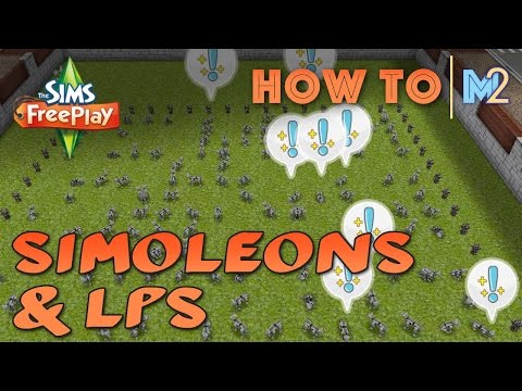 Sims FreePlay - How To Get LPs And Simoleons With A Pet Farm