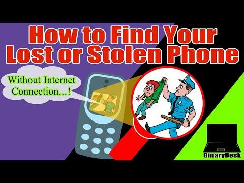 How to find your Lost or Stolen Phone.[Offline Method]
