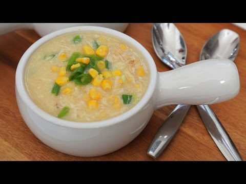Homemade Chicken & Corn Soup Recipe